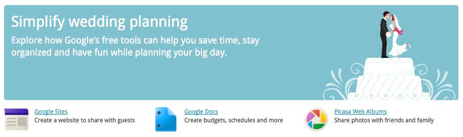 Google Weddings Ganz Praktische Hochzeitsplanung