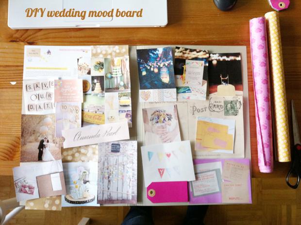 Was Ist Ein Moodboard : diy idee ein handgemachtes wedding mood board lieschen heiratet ~ Markanthonyermac.com Haus und Dekorationen